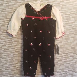 Little Me 2 piece outfit